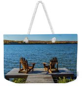 Lakeside Seating For Two Weekender Tote Bag