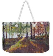 Lakeside Shadows Weekender Tote Bag