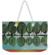 Lakeside Trees Weekender Tote Bag