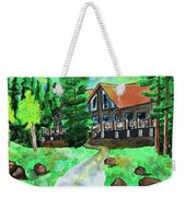 Lakewoods Lodge Weekender Tote Bag