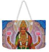 Lakshmi Blessing Weekender Tote Bag