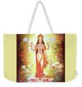 Lakshmi Goddess Of Fortune And Prosperity Weekender Tote Bag
