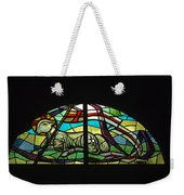 Lamb Stained Glass Window Weekender Tote Bag