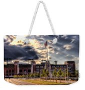Lambeau Field Awakes Weekender Tote Bag by Joel Witmeyer