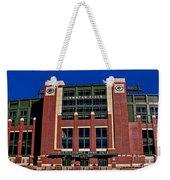 Lambeau Field Green Bay Packers Weekender Tote Bag