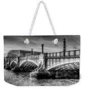 Lambeth Bridge London Weekender Tote Bag