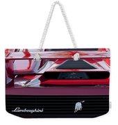 Lamborghini Rear View Weekender Tote Bag by Jill Reger