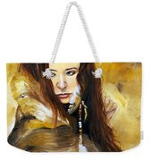 Lament Weekender Tote Bag by J W Baker
