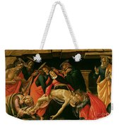 Lamentation Of Christ Weekender Tote Bag