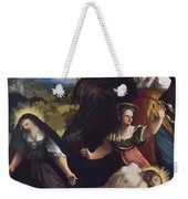 Lamentation Over The Body Of Christ 1517 Weekender Tote Bag