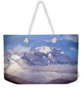 Lamjung Himal Peak Above The Clouds Weekender Tote Bag