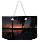 Lamplight And Daybreak  Weekender Tote Bag
