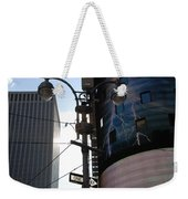 Lampost And Lightning Weekender Tote Bag
