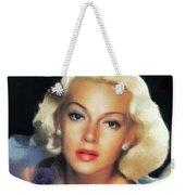 Lana Turner, Hollywood Legend Weekender Tote Bag