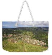 Lanai City Aerial Weekender Tote Bag