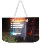 Lancaster Genral Emergency Room Weekender Tote Bag