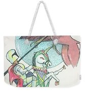 Lancelot And Griffin  Weekender Tote Bag