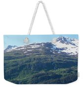 Land And Sea In Whittier Weekender Tote Bag