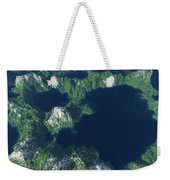 Land Of A Thousand Lakes Weekender Tote Bag
