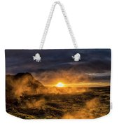Land Of Fire And Ice Weekender Tote Bag