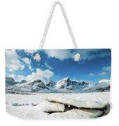 Land Of Ice And Snow Weekender Tote Bag