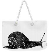 Land Snail-black Weekender Tote Bag