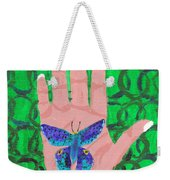 Landed On My Hand Weekender Tote Bag