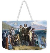 Landing Of Pilgrims, 1620 Weekender Tote Bag
