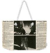 Landing On Moon, 1969 Weekender Tote Bag