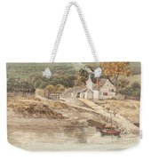 Landing Place Near Tintern Abbey Weekender Tote Bag