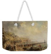 Landing The Shore End Of The Atlantic Cable Weekender Tote Bag