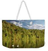 Landingville Lake Pennsylvania Weekender Tote Bag