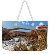 Landscape Arch - Arches National Park Moab Utah Weekender Tote Bag