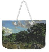 Landscape At Chailly Weekender Tote Bag
