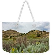 Landscape In Northwest North Dakota  Weekender Tote Bag