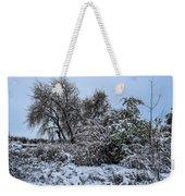 Landscape In The Snow Weekender Tote Bag