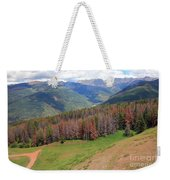 Landscape In Vail Weekender Tote Bag