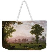 Landscape Near Lucerne With View To Mount Rigi Weekender Tote Bag