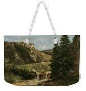 Landscape Near Ornans Weekender Tote Bag