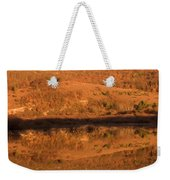 Landscape Perfectly Reflected In Palsko Lake Weekender Tote Bag