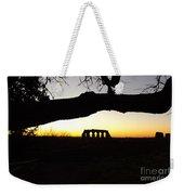 Landscape Roman Campagna Italy Weekender Tote Bag