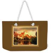 Landscape Scene - Germany. L A With Alt. Decorative Ornate Printed Frame. Weekender Tote Bag
