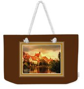Landscape Scene - Germany L A With Decorative Ornate Printed Frame. Weekender Tote Bag