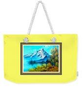Landscape Scene Near Virginiahurst L B With Alt. Decorative Onate Printed Frame  Weekender Tote Bag