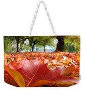 Landscape Trees Park Art Prints Autumn Fall Leaves Baslee Troutman Weekender Tote Bag