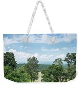 Landscape View From Preah Vihear Mountain In North Cambodia Weekender Tote Bag