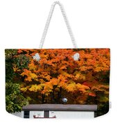 Landscape View Of Mobile Home 1 Weekender Tote Bag