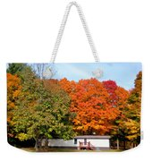 Landscape View Of Mobile Home 2 Weekender Tote Bag