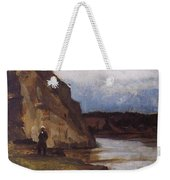 Landscape With A Figure Of His Brother Vasily Ivanovich Surikov Weekender Tote Bag