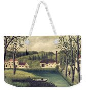 Landscape With A Fisherman Weekender Tote Bag